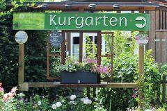 Eingang zum Kurgarten in Egloffstein