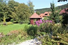 Kurgarten Egloffstein, Pavillon zum Relaxen