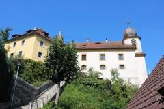 Fußweg zur Burg und Burgkirche in Egloffstein
