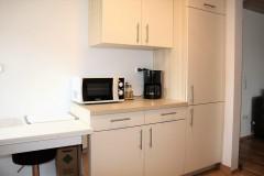 komplett eingerichtete Küche - Ferienwohnung - Haus Talblick